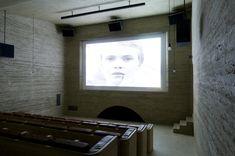 Cinema Sil Plaz | Documentation Suisse du Batiment Planer, Cinema, Windows, Mirror, Design, Inspiration, Furniture, Home Decor, Rammed Earth
