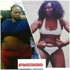 Transformation of the Day: Tracie lost 91 pounds. Check out her story.