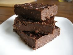 Black Bean Brownie #bean #brownies