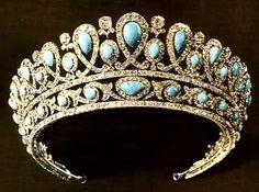 Tiara of Queen Olga of Greece