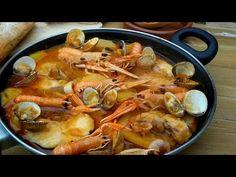 Suquet de pescado. Suquet de peix - YouTube