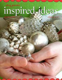 TONS of holiday Inspired Ideas, The Christmas Issue- A whole online magazine FULL of great idea- just click and turn through every page FREE!