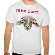 8c095c3d4d I'll be Baaa Funny Goat Art Science Fiction Design T-Shirt   Zazzle.co.uk