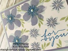 Blooms and Wishes stamp set