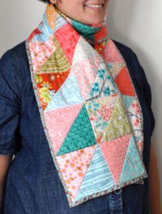 7008207132 Free Quilt Pattern  Winter Scarf