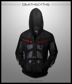 I WISH THESE WERE REAL! Deathscythe Hell Hoodie by seventhirtytwo.deviantart.com on @deviantART