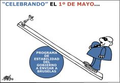 """""""Celebrando"""" el 1º de mayo"""