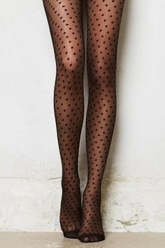 Medias de lunares, medias, tights, polka dot, chicas, girls, moda, fashion www.PiensaenChic.com