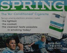 1960s SPRING Cigarettes vintage advertisement tobacco | Flickr - Photo Sharing!