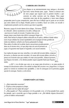 Expresión escrita con juegos tradicionales