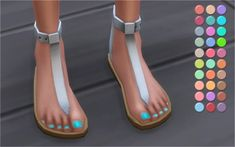Veranka: Trendy Toenail Polishes • Sims 4 Downloads