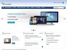 le nouveau site web de condor electronics