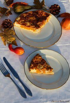 Quiche Weight Watchers, Weight Watchers Program, Weigth Watchers, Feta, Pepperoni, Panna Cotta, Pizza, Ethnic Recipes, Voici