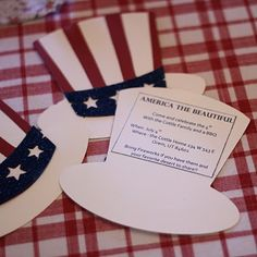 Great 4th of July invitations! #July, #Party, #Invitations