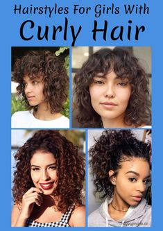21 Hairstyles For Girls With Curly Hair