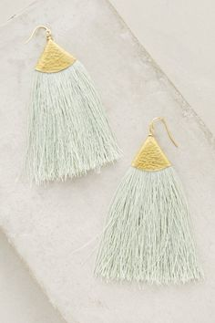 Anthropologie Serenite Tassel Earrings