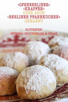 Leckere glutenfreie Ofenberliner oder auch Krapfen oder Berliner Pfannkuchen genannt ;)