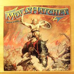 MOLLY HATCHET Beatin` the Odds - near mint Vinyl LP Penthouse Pauper The Rambler