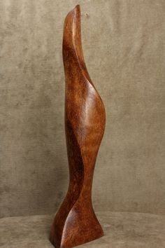 Abstract Art Modern Sulpture Wood Carving by TreeWizWoodCarvings
