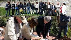 #LaSpezia. Firmato ieri il #protocollo d'intesa per il Progetto #Orto in Condotta. Una conferma del sodalizio tra il Comune, gli Istituti Comprensivi Statali aderenti e Slowfood