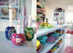 colorful kitchen #kitchenware