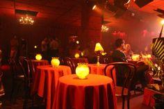 The Manderley Bar Votive Centerpieces, Speakeasy Decor, Sleep No More, Clubhouse Design, Dinner Theatre, Theater, Jazz Lounge, Jazz Bar, Jazz Club