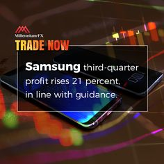 Samsung third-quarter profit rises 21 percent, in line with guidance. Financial News, Flexibility, Wednesday, Third, Investing, September, Samsung, Electronics, Back Walkover