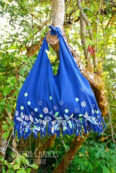 T-shirt tote - fun summer craft!