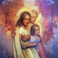 Tender Mercies ~ Our three beautiful daughters and our little prince ♥