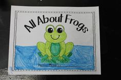Frog Frenzy is a nonfiction unit of study about frogs. Students read and write about frogs, play math and literacy games, and create a craft, too! Literacy Games, Literacy Centers, Learning Activities, Teaching Ideas, April Preschool, Pond Animals, Lifecycle Of A Frog, Emergent Curriculum, Frog Theme