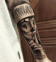 Tatuagem criada por Samurai do Rio Grande do Sul.