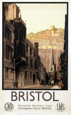 Bristol - Historic Church and Cathedral Art Print by National Railway Museum at King & McGaw
