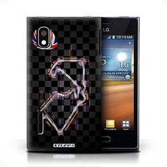 Stuff4 Phone Case / Cover For Lg Optimus L5/e610 / Britain/silverstone Design / 2014 F1 Track Collection http://www.smartphonebug.com/accessories/best-25-lg-optimus-l5-e610-cases-and-covers/