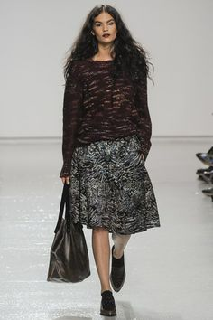 Jade Willoughby Tracy Reese NYFW FW14