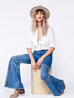 Free People Seamed Bambi Flare