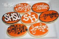 My sister made these cookies for my daughter's graduation as she is going to SHSU in the fall <3