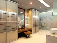 Modern Bathroom Interior Design Ideas  Click this link to view more details - http://Interiors.ApnaGhar.co.in/