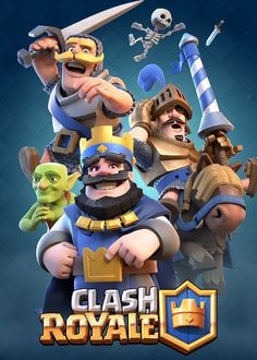 Images from the mobile game Clash Royale