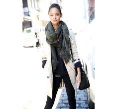 Street looks à la Fashion Week automne-hiver 2014-2015, jour 1