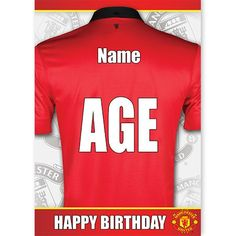 Manchester United Fans, Basil, Personalized Gifts, Greeting Cards, Names, The Unit, Football, Boys, Soccer