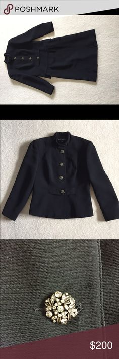 Women's Evening Suit Nordstrom Rack Shani black evening suit. Beautifully made with gorgeous antique look rhinestone buttons Shani Other