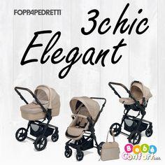 3chic Elegant è la nuova versione 2017 del modello 3chic di #Foppapedretti! Lo trovi in negozio e online!