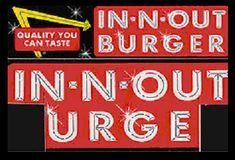 Remember cutting the  In-N-Out bumper stickers to look like this??? ;)
