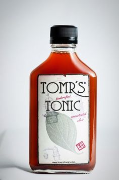 Tomr's Handcrafted 200 ml Tonic Artisanal Quinine Syrup Concentrate Tonic Water, Gin And Tonic, Tonic Syrup, Premium Gin, Craft Cocktails, Distillery, Gifts For Family, Gourmet Recipes, Beverages