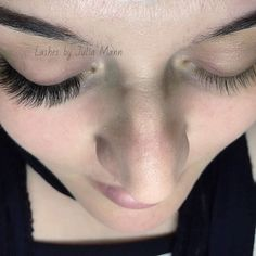 Try different angles when taking pictures of your before and after lashes.