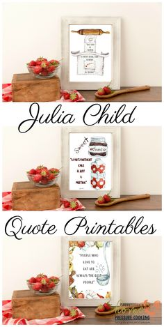 Julia Child Quotes F