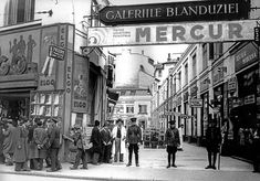 """Bucharest photos from the first decades of the century - mostly from the interwar period (between the two World Wars). ♦ The end of """"Little Paris"""" (click photo) ♦ Old Pictures, Old Photos, Romanian Men, Mall Of America, North America, Little Paris, Bucharest Romania, Royal Caribbean Cruise, London Pubs"""