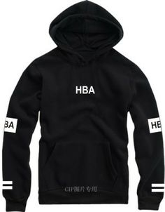 Spring New 2014 HBA hood by air Hoodies aeropostale Pullover skateboard hip hop hoody