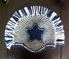 Baby Dallas Cowboys Hat with Mohawk