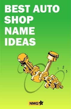 Generate some good auto shop name ideas with the auto shop name generator. Find out tips and tricks and some popular auto repair and mechanic shop names too Mechanic Shop, Mechanic Tools, Auto Parts Shop, Car Parts, Shop Name Ideas, Name Generator, Car Shop, Business Names, Cool Cars